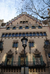I forget what the building next to Casa Batlló is but it's beautiful too