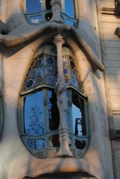 Casa Batlló windows