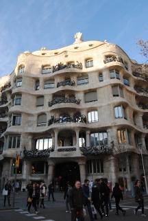 Casa Milá, or La Pedrera