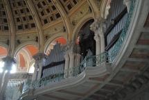 Auditorium of art museum