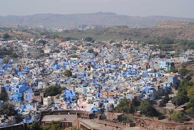 India (2 of 3): The Blue City ofJodhpur